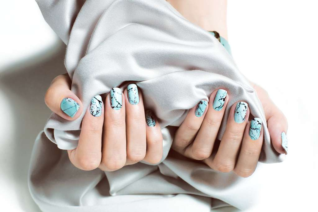 Marble Nails 1