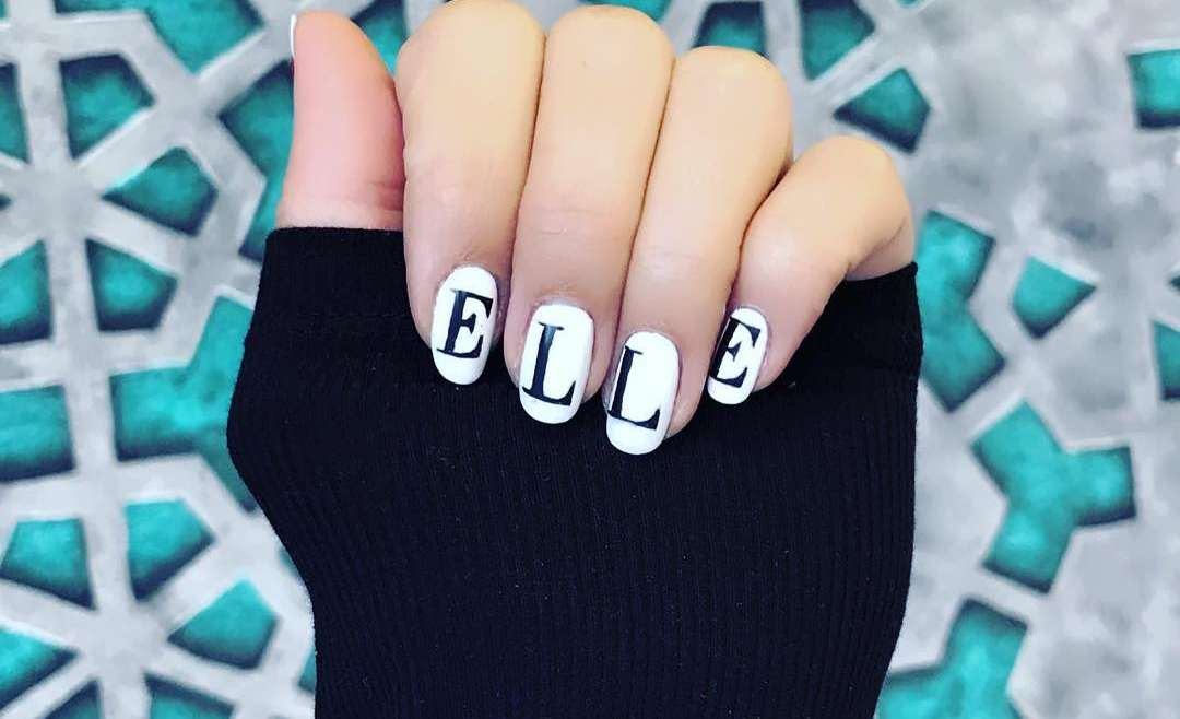 Trend Alert: Logo Nails